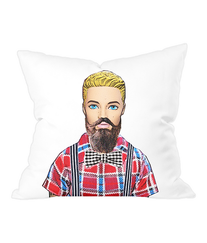Hipster Throw Cushion Cover