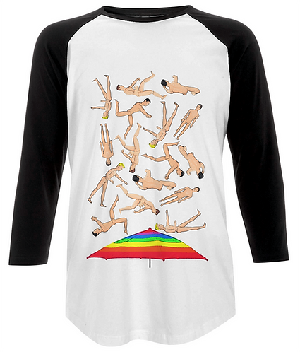 It's Raining Men, Funny Baseball Shirt