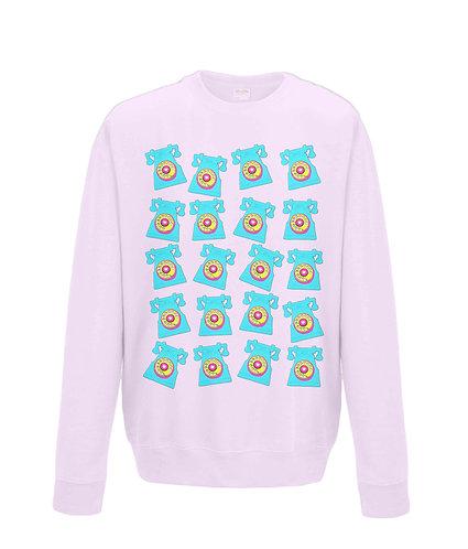 Retro Telephones! Sweatshirt