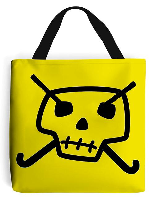 Skull & Hockey Sticks Field Hockey Tote Bag