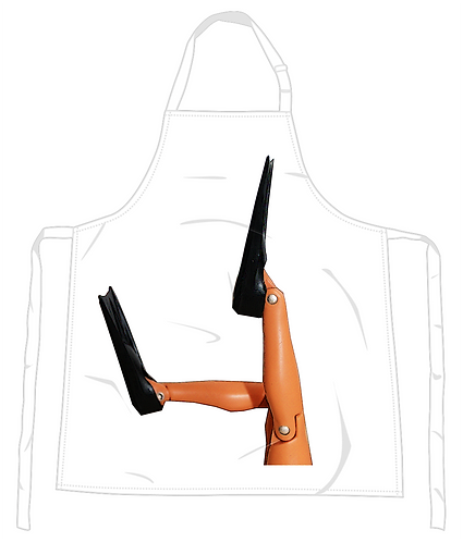 Flippers Apron