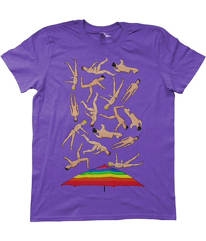 It's Raining Men, Funny, Gay T-Shirt