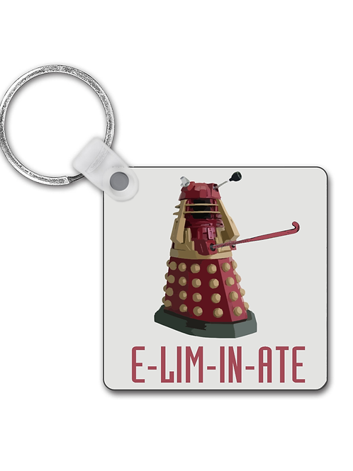 Eliminate! Funny Field Hockey Keyring