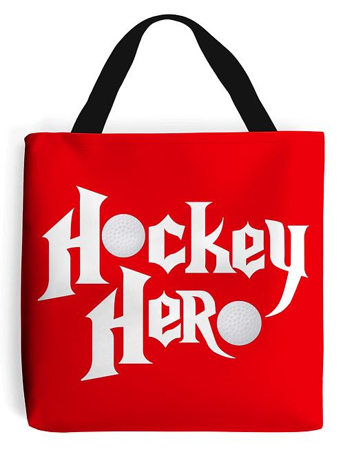 Hockey Hero Field Hockey Tote Bag
