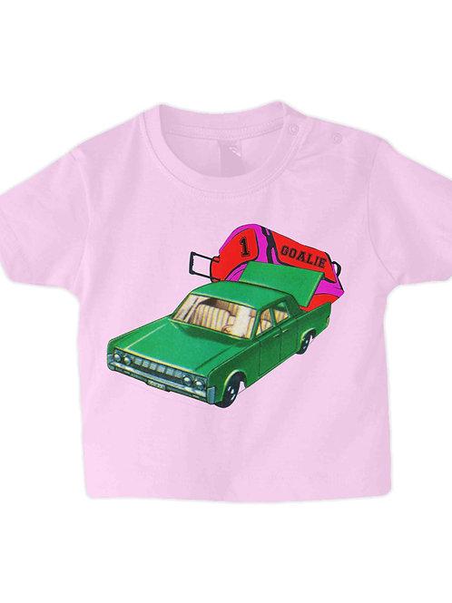 Hockey Goalie Car Babies Field Hockey T-Shirt