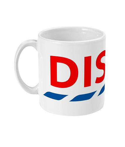 Cool Disco Mug! Great take on this famous logo!