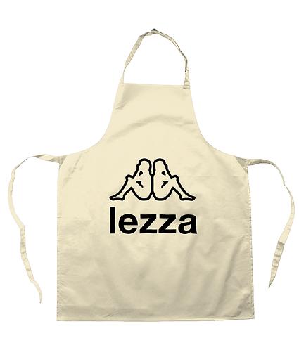 Lezza! Funny, Lesbian, Slogan, Apron