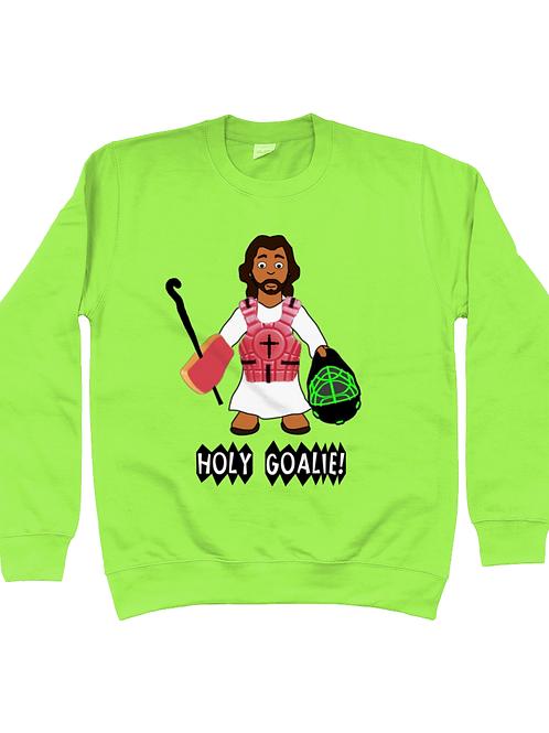 Holy Goalie Field Hockey Sweatshirt