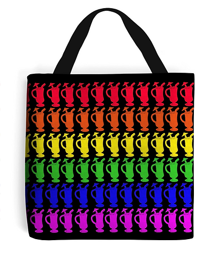 Cocktail Rainbow Tote Bag