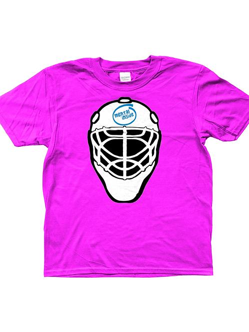 Mental Inside! Funny, Kids Field Hockey Goalkeeper T-Shirt