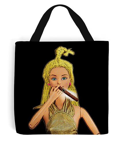 Smoking A Cigar, Pop Art Tote Bag