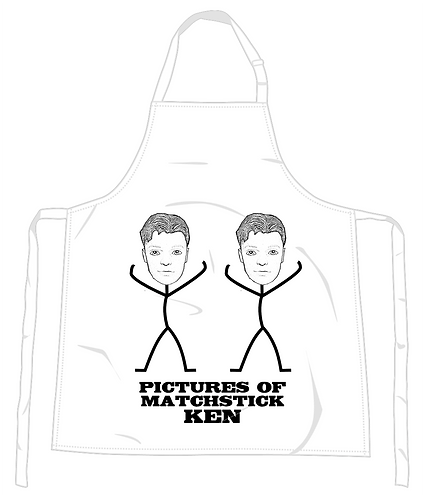 Pictures of Matchstick Ken Apron