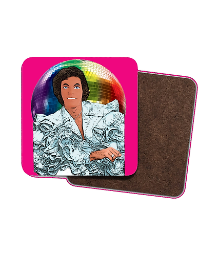 4 x Barry Doll Drinks Coasters!