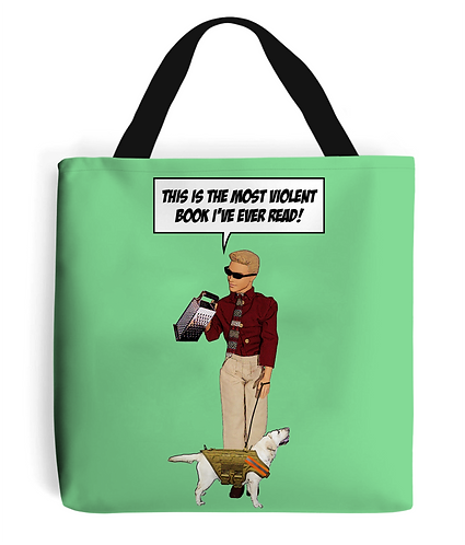 Violent Tote Bag