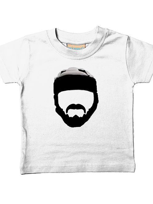 Rugby Hipster! Cool, Funny, Babies Rugby T-Shirt