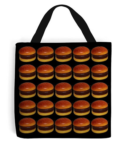 Burger Takeaway Tote Bag