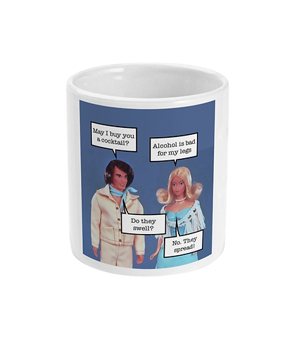 Rude, Funny, Meme Mug! May I Buy You A Cocktail?