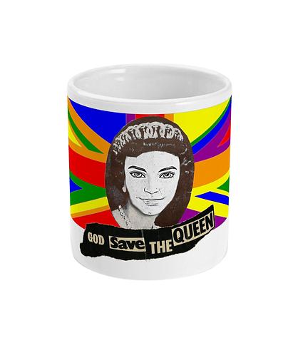 God Save The Queen (Ken)! Funny Gay Mug!