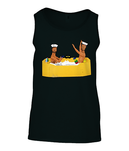 Anyone For Quoits? Rude, Gay Tank Top