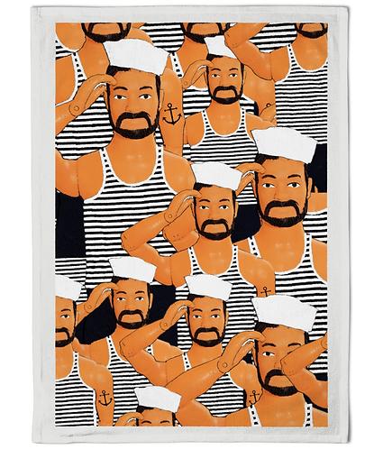Hello Sailor Tea Towel!
