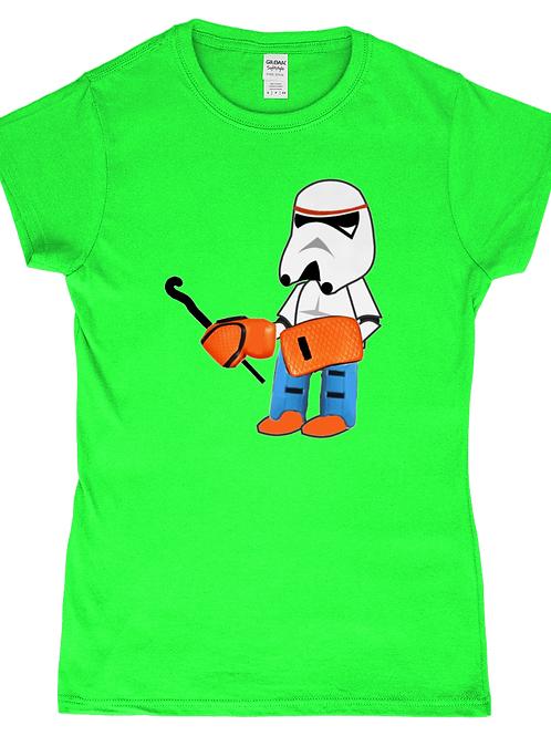 StormKeeper! Funny, Ladies Field Hockey Goalkeeper T-Shirt