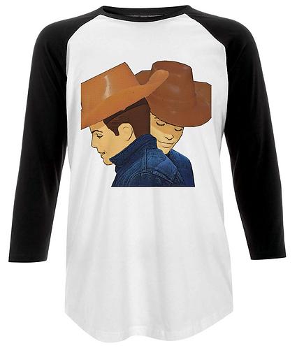 Brokeback Mountain Pop Art, LGBT, Baseball Shirt