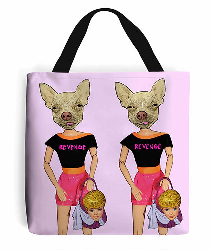 Revenge of The Handbag Dog, Funny Tote Bag