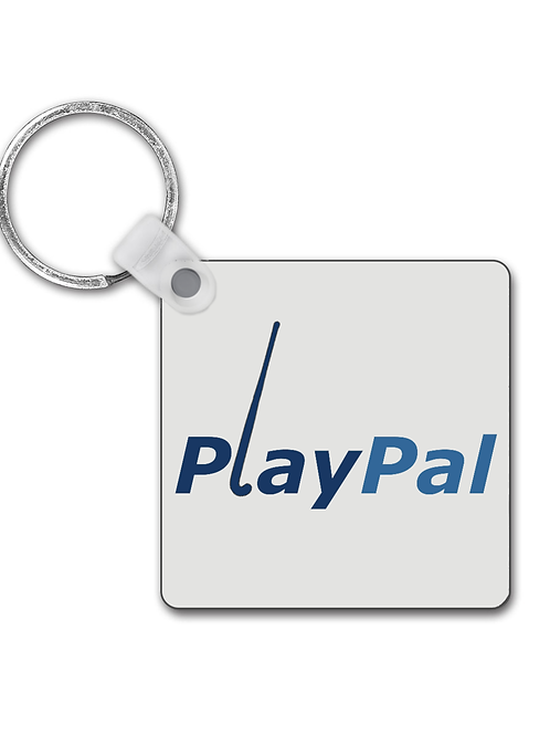 Playpal! Funny Field Hockey Keyring
