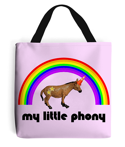 My Little Phony Tote Bag