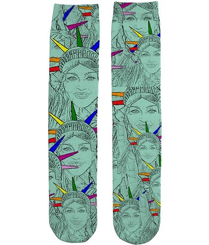 Funny, Gay, Tube Socks. Madonna As The US of Gay!