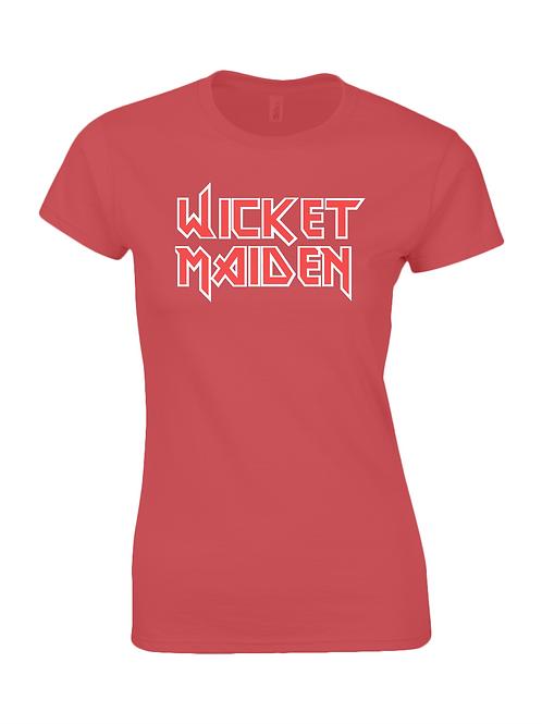 Wicket Maiden Ladies T-Shirt