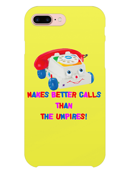 Makes Better Calls Than The Umpires Field Hockey i-phone case