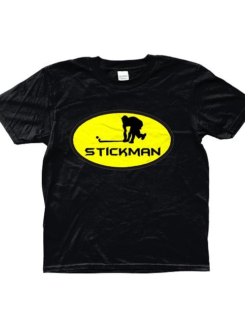 Stickman! Cool, Kids Field Hockey T-Shirt