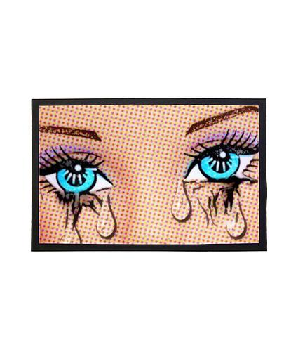 Pop Art Tears Door Mat!