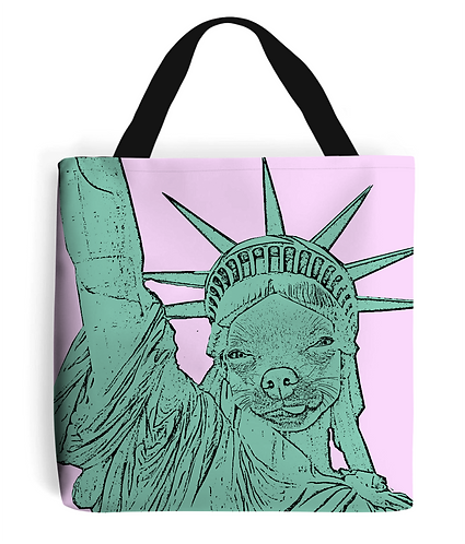 The United States of Chihuahua! Funny Tote Bag
