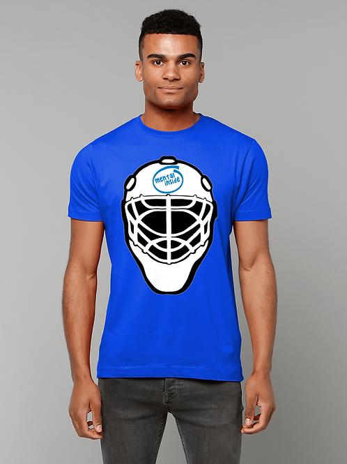 Mental Inside! Funny, Men's Field Hockey Goalkeeper T-Shirt