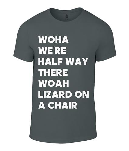 Lizard On A Chair Men's T-Shirt