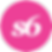 social_media_round_icons_pink_color_set_