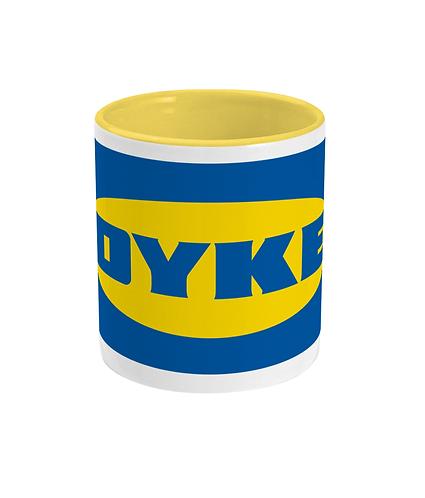 Dyke! Funny Lesbian Mug!