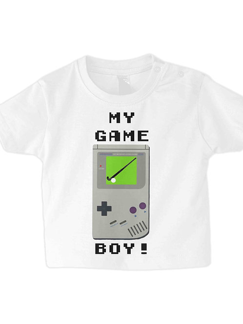 Hockey Is My Gameboy Babies Field Hockey T-Shirt