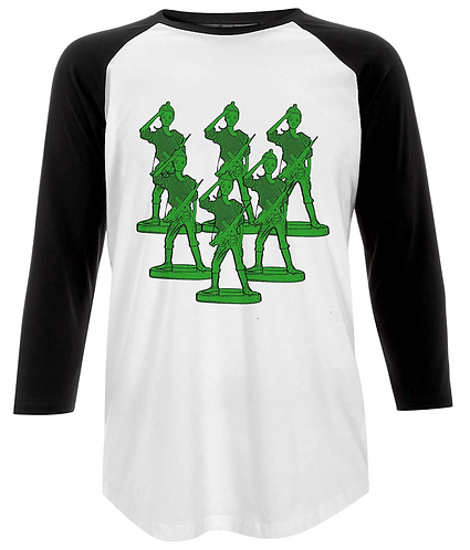 Toy Soldier Army Baseball Shirt