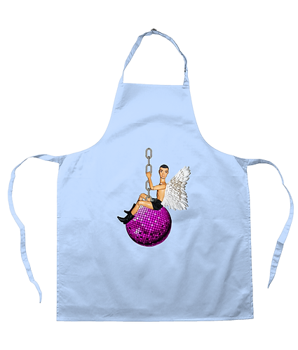 I Came In on a Disco Ball! Funny Apron