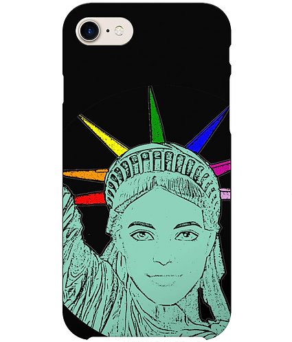 The U.S of Gay! Pop Art Statue of Liberty iPhone Case