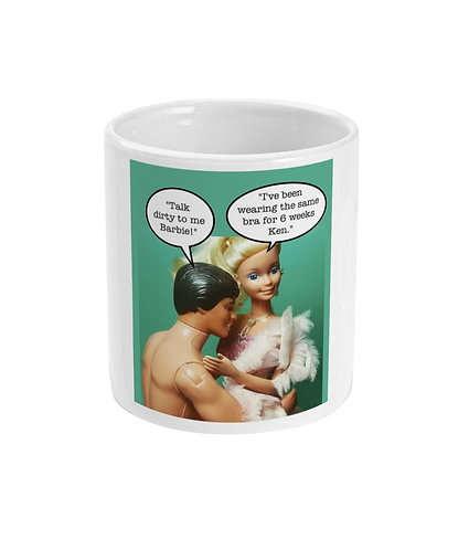 Rude, Funny, Meme Mug! Talk dirty to me!