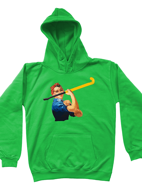 We Can Do It Kids Field Hockey Hoodie