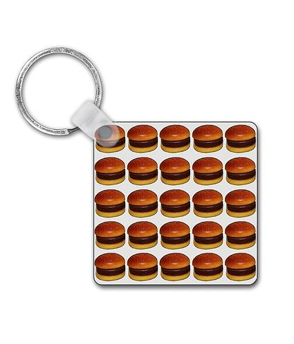 Hamburger Heaven Keyring