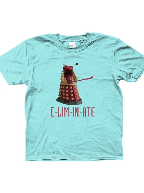 Eliminate! Funny, Cool, Kids Field Hockey T-Shirt
