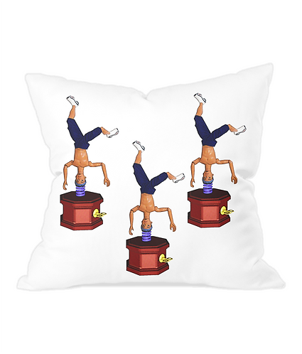 Beatbox Throw Cushion Cover