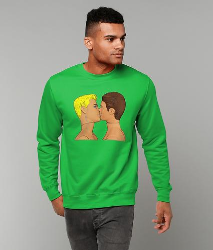 Gay Kiss, LGBT Sweatshirt
