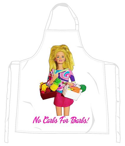 No Carbs For Barbs Apron